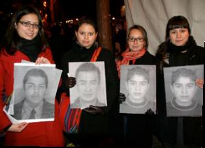 Hommage aux victimes de crimme d'état 2012